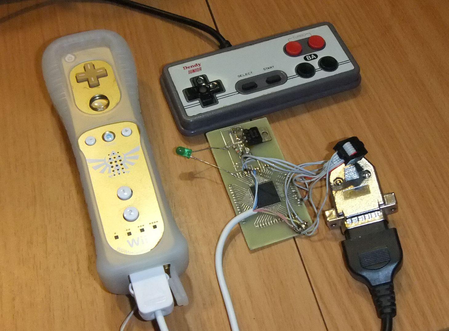 Создание самодельных аксессуаров для Nintendo Wii